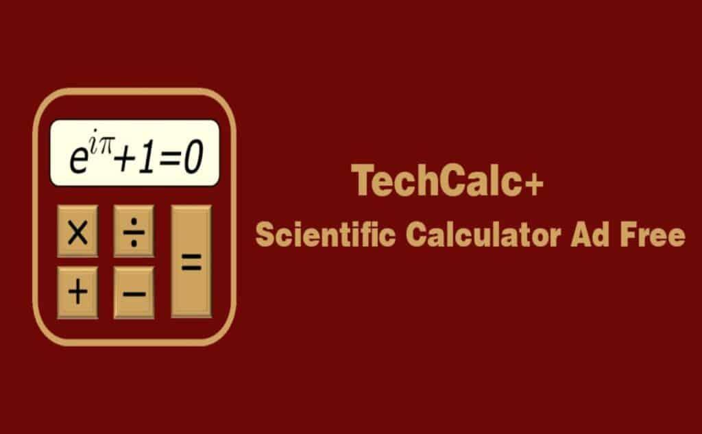 TechCalc+ Scientific Calculator premium Apk