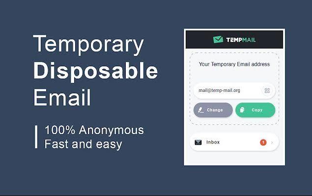 TempMail mod apk