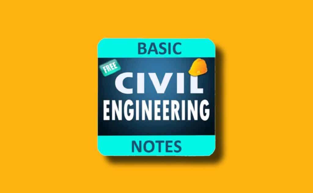 Basic Civil Engineering Notes Premium Apk
