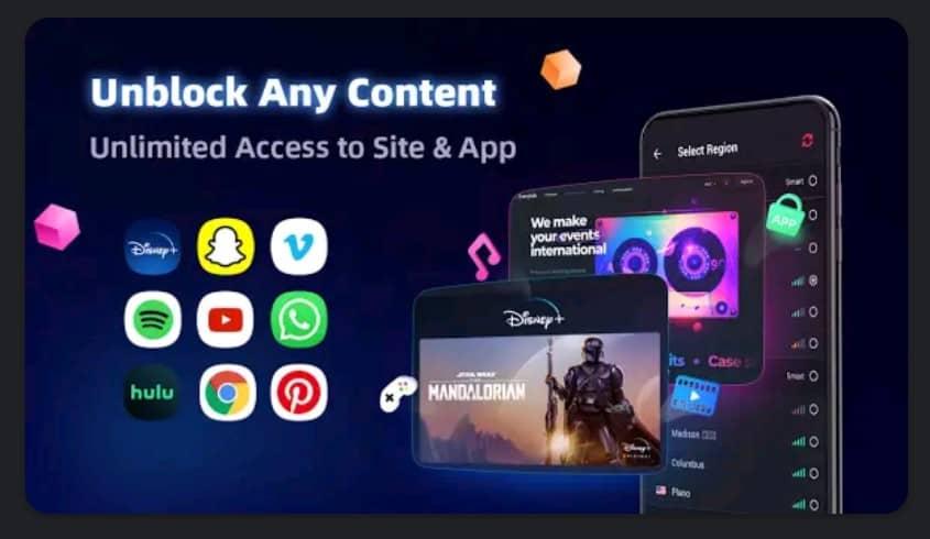 VPN Inf Premium apk Features